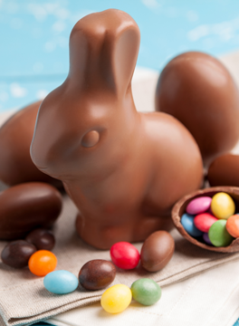 Chocolate Easter bunny