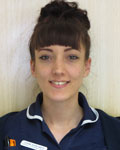 Jodie Edwards, student nurse at County Vets Group
