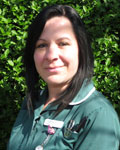 Nicola Wedgwood, nurse at County Vets Group